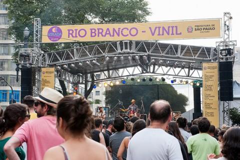 Palco Rio Branco - Vinil. Foto: Ilana Bar.